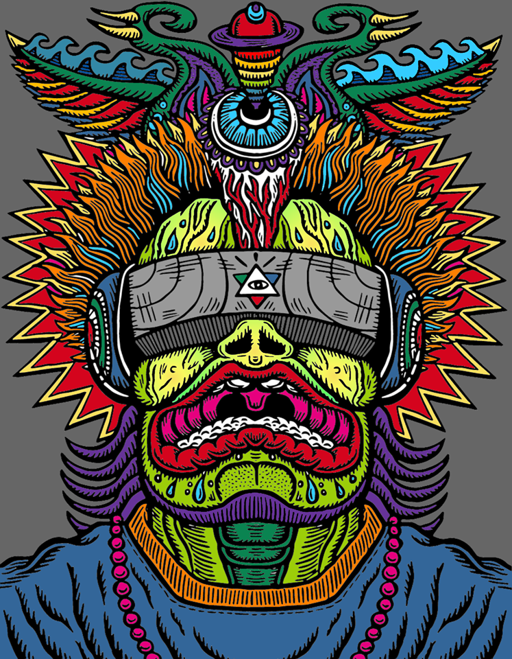 7.31.2020  -  Chris Dyer's Positive Creations Virtual Reality Experience - Create Music Art